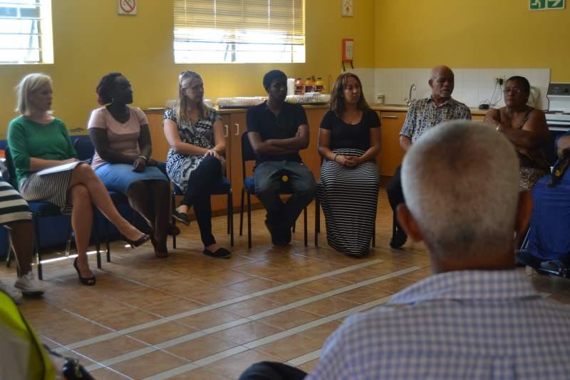 Bonteheuwel briefing meeting