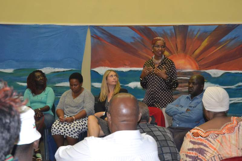 Langa briefing meeting