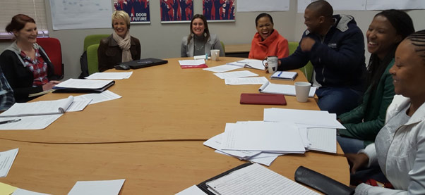 Mentorship Meeting with Masters & PhD Students